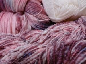 市販の毛糸をリメイク