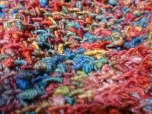 鈎針編みのとんがり帽子