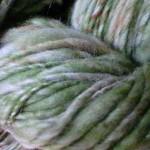 バルキー糸を紡ぐ