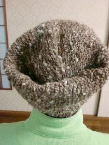 帽子として