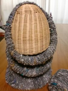 アルパカのネックウォーマー&帽子