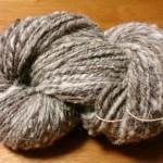 ピレネーシープの手紡ぎ糸