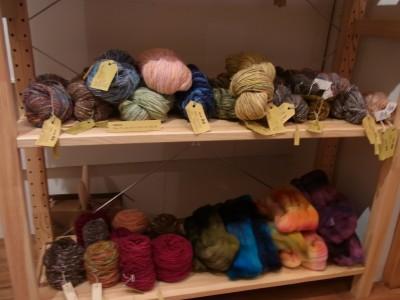 手紡ぎ糸たち