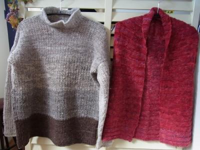 セーターとベスト