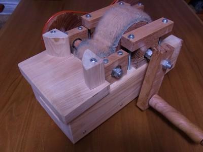 綿用小型カーダー