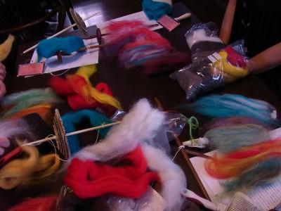 紡ぎのワークショップ2012夏