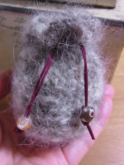 犬毛ホルダー