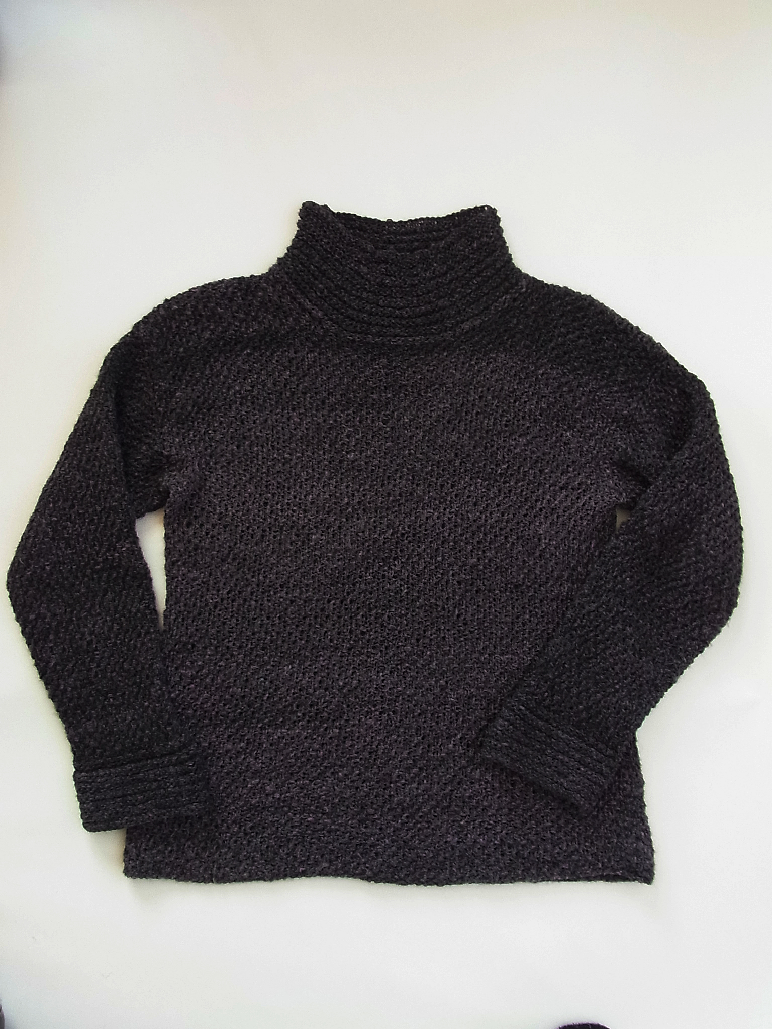 シルクウールのセーター