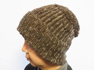 メリノ(ナチュラルカラー)の帽子